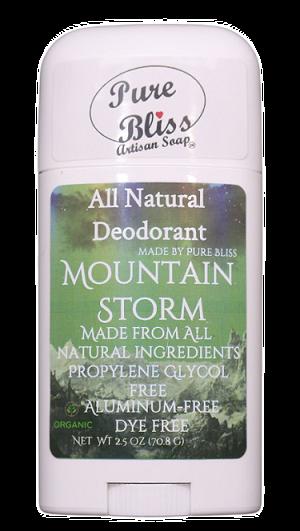 Mountain Storm Deodorant