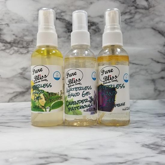 waterless hand soap